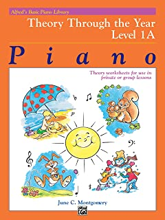 Basic Piano Course: Theory Through the Year Bk 1a