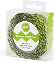 American Crafts R Memory Keepers Chevron Washi Tape Lime