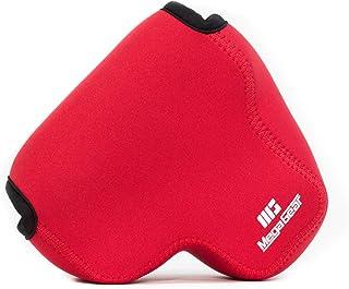 MegaGear MG052 Estuche para cámara fotográfica - Funda (Funda Nikon Nikon Coolpix P610 Nikon Coolpix P600 Rojo)