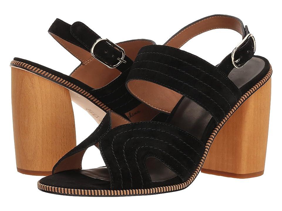 Joie Aforleen (Nero Calf Suede) High Heels