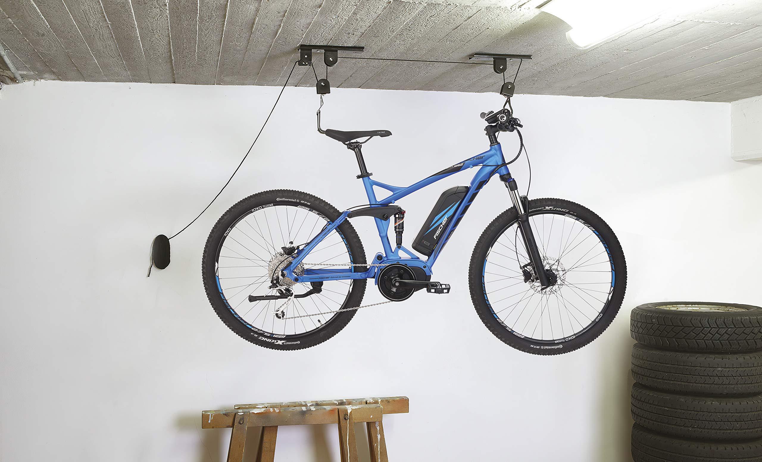Fischer ProfiPlus Soporte para bicicleta, Unisex adulto, Soporte para bicicleta., 50386, Negro , 30 kg: Amazon.es: Deportes y aire libre
