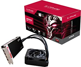 Sapphire Radeon R9 FURY X 4G D5 AMD Radeon R9 Fury X 4GB - Tarjeta gráfica (Agua, Windows 7 Enterprise, Windows 7 Home Basic, Windows 7 Home Premium, Windows 7 Professional, Windows , AMD, Radeon R9 Fury X, High Bandwidth Memory (HBM), CD-ROM/DVD-ROM)