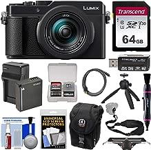 Panasonic Lumix DC-LX100 II 4K Wi-Fi Digital Camera with 64GB Card + Battery & Charger + Case + Tripod + Strap Kit