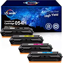 Uniwork Compatible Toner Cartridge Replacement for Canon 054H 054 Cartridge CRG 054 use for Color Image Class MF644Cdw LBP...