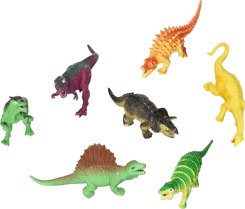 Fun Express Large Assorted Dinosaur Toy Figures  12 Pieces