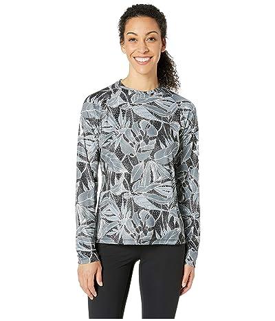 Columbia Super Tidal Tee Long Sleeve Shirt (Black/Dotty Palms) Women