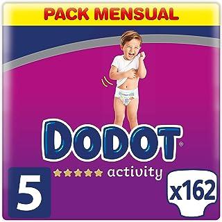 Dodot Activity Pañales Talla 5, 162 Pañales, 11-16 kg, Pa