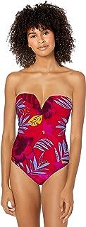 Seafolly Women's Sweetheart Bandeau One Piece Swimsuit
