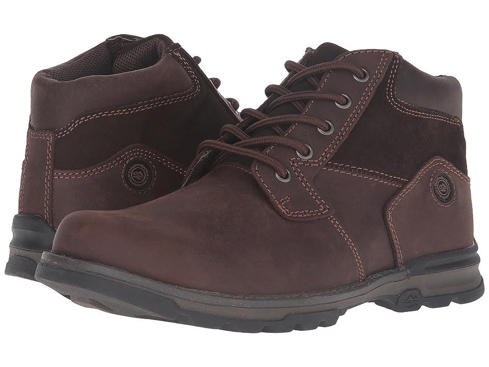 Nunn Bush Park Falls Plain Toe Boot All Terrain Comfort (Brown) Men