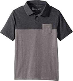 Under Armour Kids - Charged Cotton Blocked Polo (Big Kids)