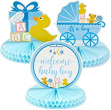 baby shower table centerpieces boy