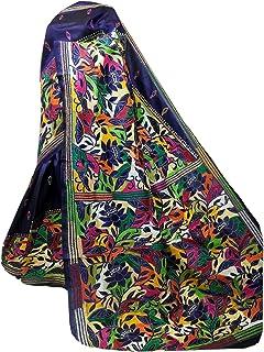 بلوزة ساري نسائية بنغال هندي أزرق من الحرير Bnaglori لحفلات الزفاف الساري كامل الجسم خيط عمل يدوي الكناثا 916a 2