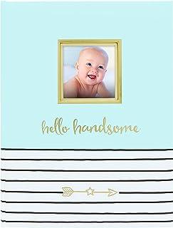 Pearhead سلام خوش تیپ ، کتاب خاطره کودک 5 ساله اول با درج عکس ، آبی