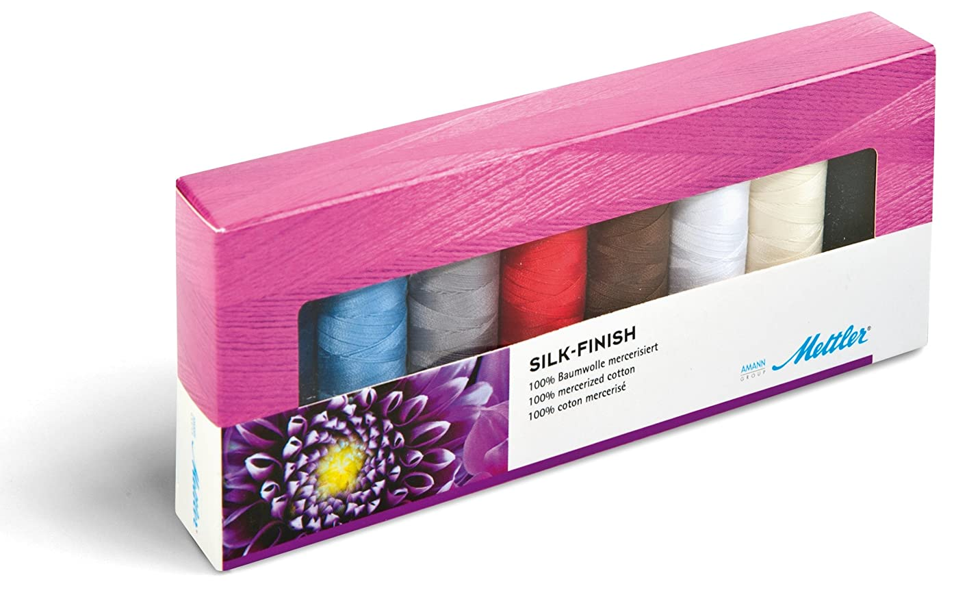 Silk Finish Art.105 Thread Set 1 each 8 colors