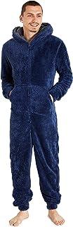 CityComfort Fleece Onesie for Mens, Fluffy Onesies for Adults, Onsies with Hoodie and Pockets, Warm Nightwear, Cool Pyjama...