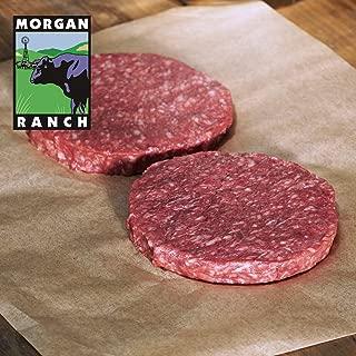 モーガン牧場ビーフ 高品質 牛肉 ハンバーガー用パティ (2枚) 最高級グレード アンガス牛 ホルモン剤と抗生物質不使用
