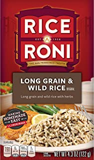 Rice-A-Roni Long grain & wild rice with herbs, Pack of 12