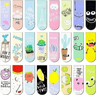 comprar comparacion Meetory 24 marcadores magnéticos de páginas de estilo diverso, marcadores magnéticos para estudiantes, oficina, lectura, p...