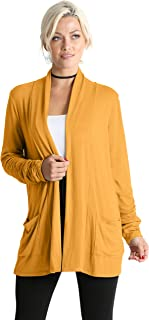 f6d5c567e75 Long Sleeve Cardigan Sweater for Women with Pockets - Made in USA