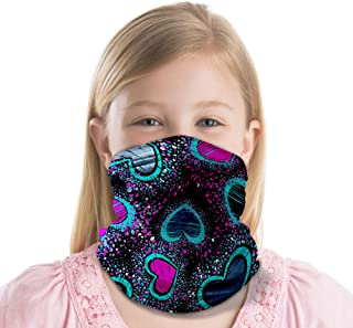 TUFF Kids Neck Gaiter face mask UV Protection -Perfect for Boys & Girls- Protect Mouth & Nose - Multi Function for Running...