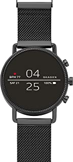Skagen Women's Quartz Smartwatch smart Display and Stainless Steel Strap, SKT5109