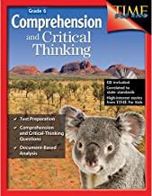 Comprehension and Critical Thinking 6th Grade – Sixth grade workbook with lessons to improve comprehension, critical thinking and test taking skills