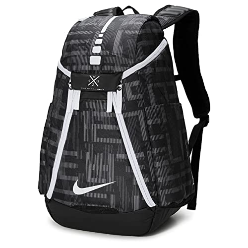 a88a08f0f118d Nike Hoops Elite Max Air Team 2.0 Graphic Basketball Backpack Black/White