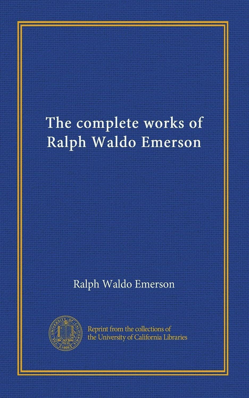 重力電子レンジ同種のThe complete works of Ralph Waldo Emerson (v.05)