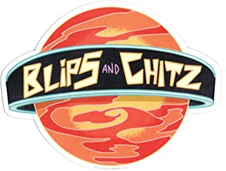 Hot Properties Rick and Morty Blips and Chitz Car Magnet