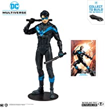 McFarlane Toys - DC Multiverse - Nightwing: Better Than Batman Action Figure with Build-A Rebirth...