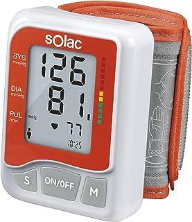Solac TE7800 Tensiotek - Tensiometro digital de medicion automatica de la tension y pulso cardiaco