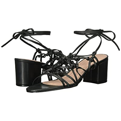 LFL by Lust For Life Simple (Black Leather) High Heels