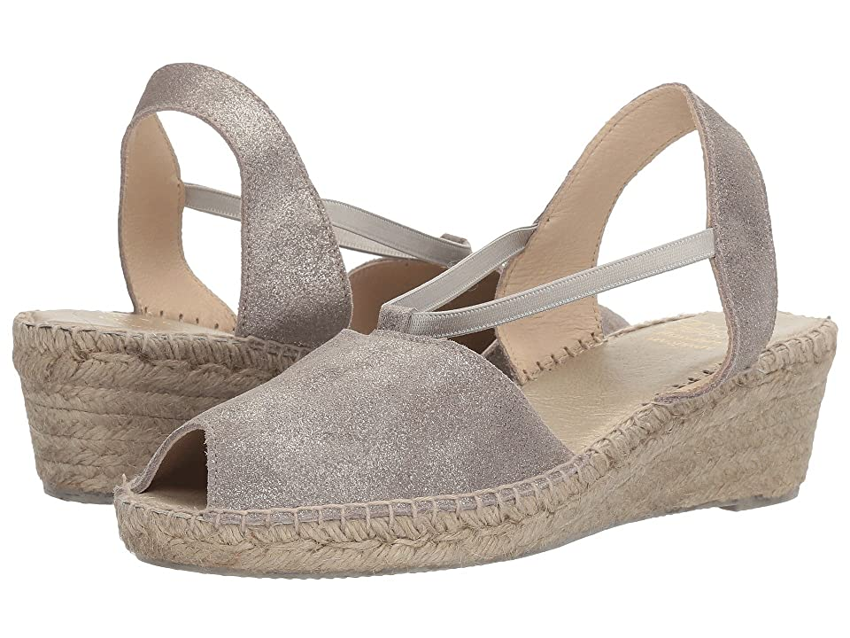 Andre Assous Dainty (Pewter Brushed Suede) Women