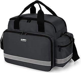 Trunab Medical Supplies Bag, Nurse Bag with Handle and Shoulder Strap for Home Health Care, Hospice Visit, Travel, or Emer...