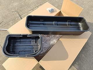 syppo Black Underseat Storage Box Detachable Style (for 2015-2019 Ford F150 Super Crew Cab)