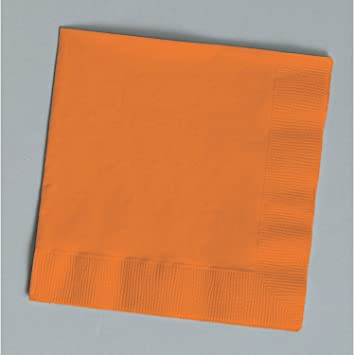 """2ply 5/""""x5/"""" 100 PLAIN IVORY beverage//cocktail napkins for wedding//party//event"""