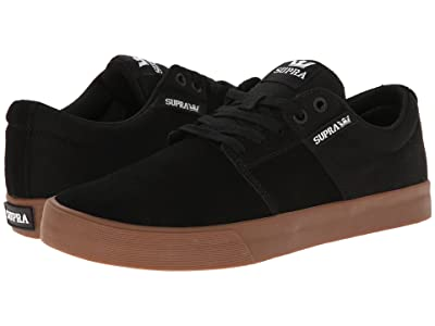 Supra Stacks Vulc II (Black/Gum) Men