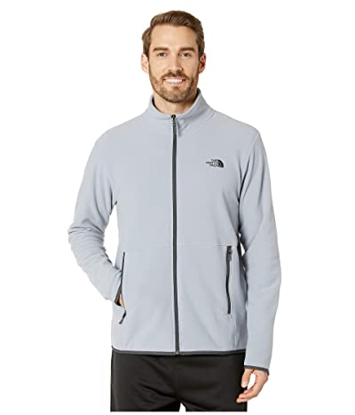 The North Face TKA Glacier Full Zip Jacket (Mid Grey/Mid Grey) Men