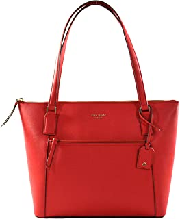 Cameron Pocket Womens Saffiano Leather Tote