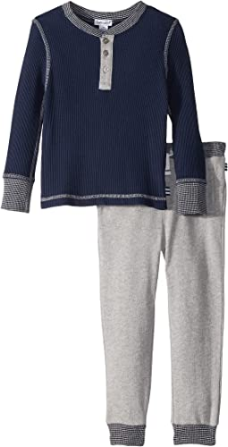 Splendid Littles - Waffle Knit Henley Set (Toddler)
