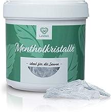 LoWell® 100 g de cristaux de menthol en sac refermable - Cristaux de menthol pour sauna de qualité premium - Cristaux de m...