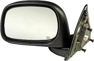 Dorman 955-1377 Driver Side Power Door Mirror - Heated / Folding for Select Dodge Models, Black