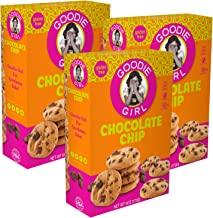 Goodie Girl, Chocolate Chip Cookies | Gluten Free | Dairy Free | Peanut Free | Kosher | 6oz Boxes, Pack of 3