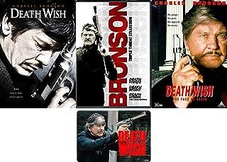 Death Wish: Complete Charles Bronson Original Movie Series 1-5 DVD Collection with Bonus Art Card