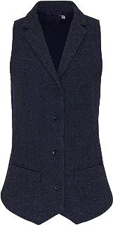 PREMIER PR626 Women's Herringbone Waistcoat