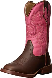 Texsis Square Toe Cowgirl Boot (Toddler/Little Kid)