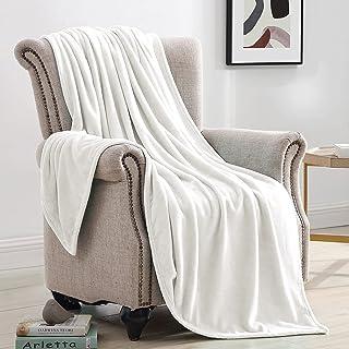 Suchtale Fleece Blanket (King Size 108x90 Silver Grey) Plush Fuzzy Lightweight Throw, Super Soft Microfiber Flannel Nap Bl...