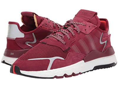 adidas Originals Nite Jogger (Collegiate Burgundy/Collegiate Burgundy/Footwear White) Men