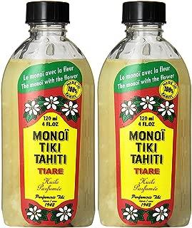 Monoi Tiare Tahiti, Tiare , 4 fl oz (120 ml) - 2pc