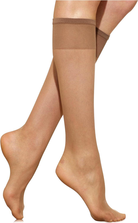 Silkies Women/'s Ultra Knee Hi/'s 3 Pack Regular